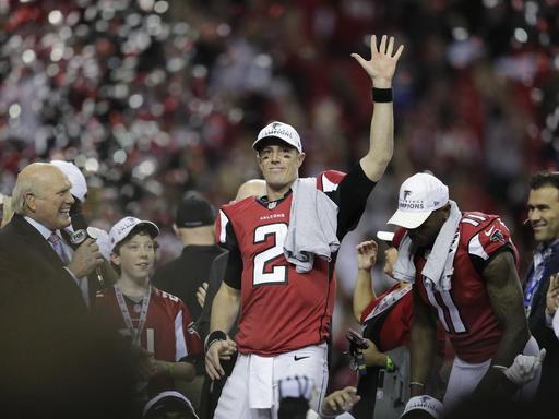Matt Ryan after NFC championship, AP photo