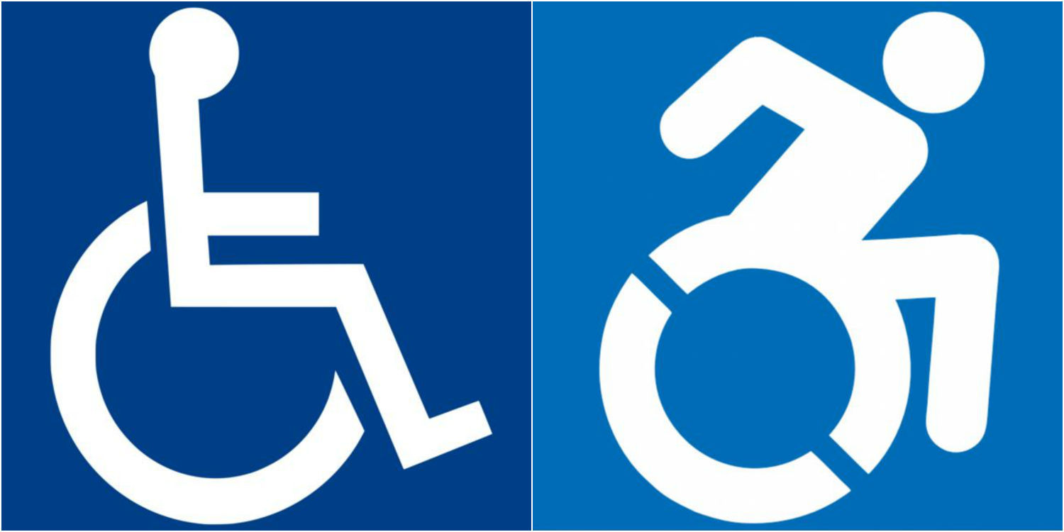 peppier handicapped symbol gets support but problems remain local rh host madison com new handicapped logo handicapped logo download