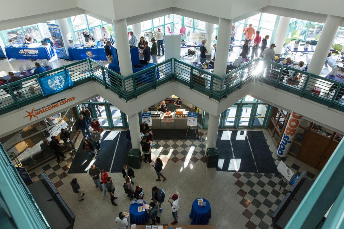 Milwaukee Area Technical College open house