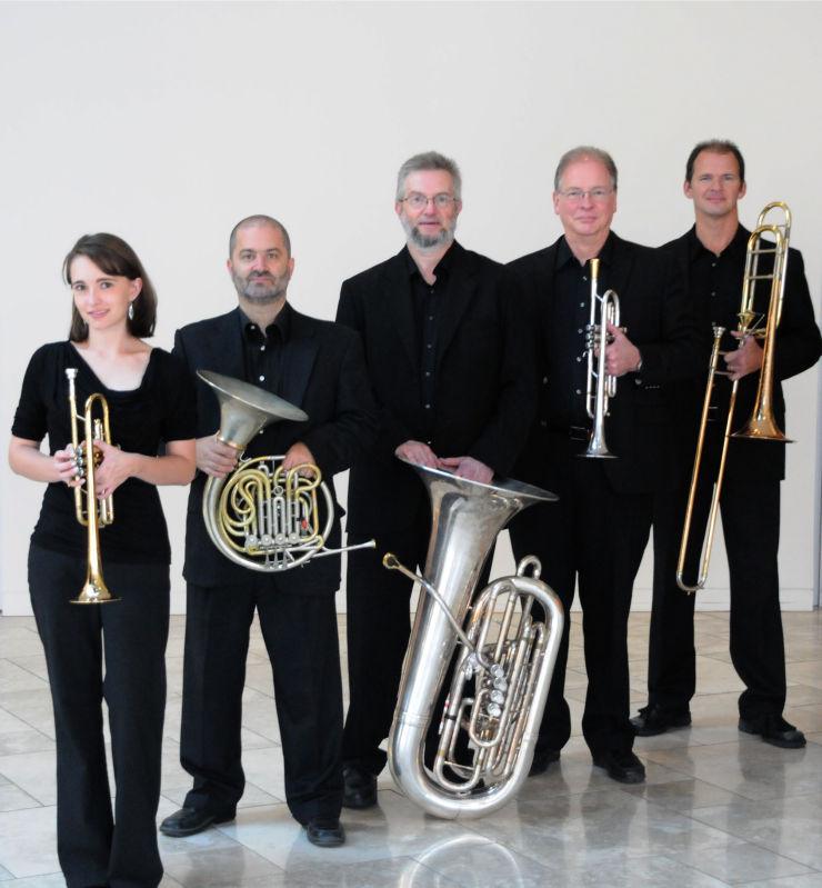 Wisconsin Brass Quintet, Jessica Jensen, Daniel Grabois, John Stevens, John Aley, Mark Hetzler