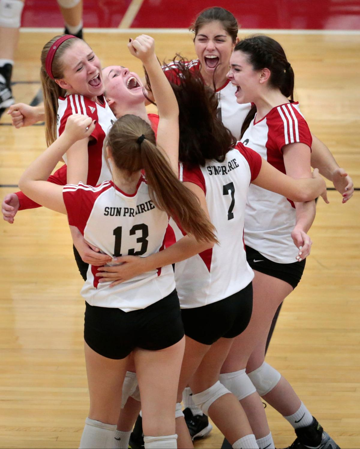Homes For Sale Middleton Wi >> WIAA girls volleyball: Sun Prairie swings the momentum back just in time to stop Middleton ...