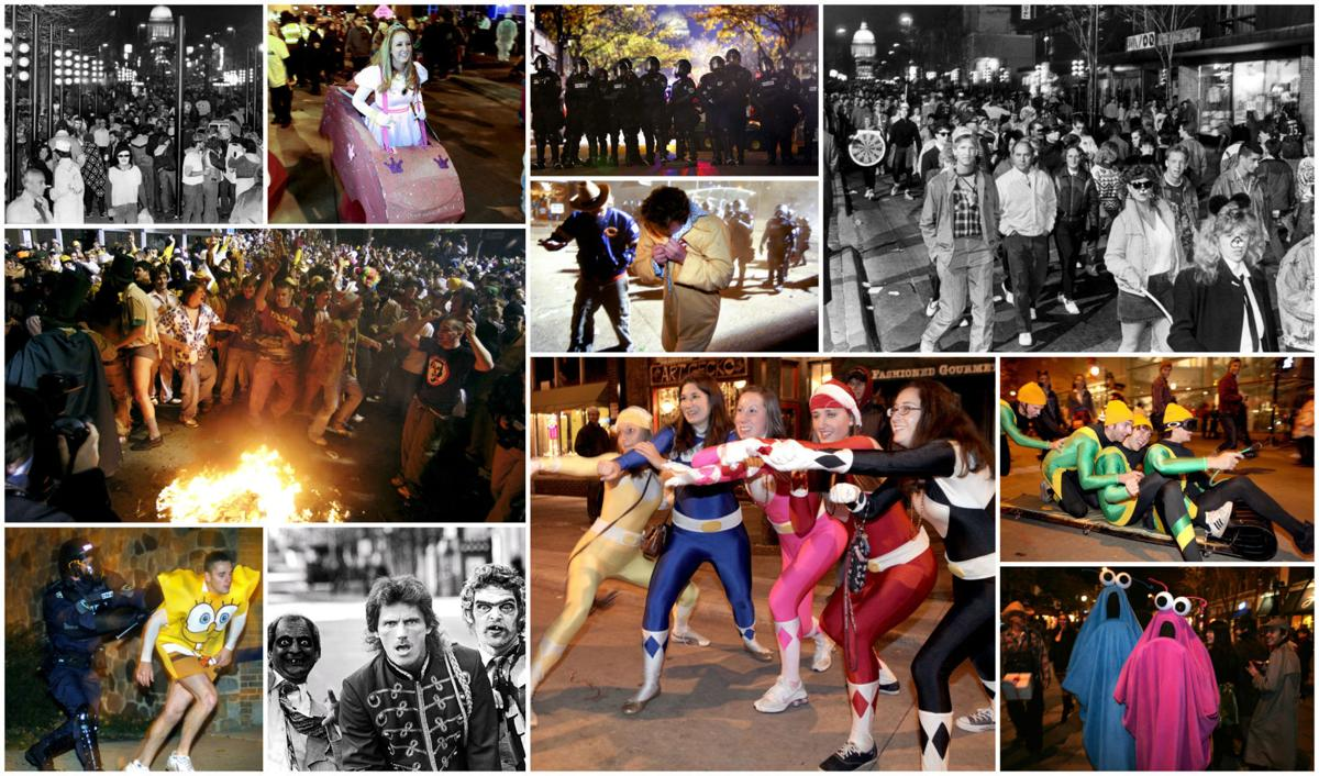 Throwback photos: 4 decades of Halloween celebrations on State Street