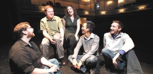 New Muse, Jerry Hui, Daniel O'Dea, Peter Gruett, Jennifer Sams, James Held