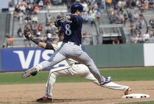 Brewers: Milwaukee drops series in San Francisco