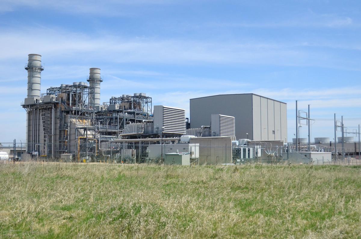 Riverside power plant