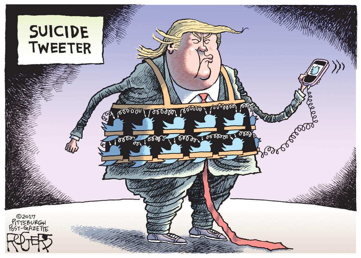 Editorial cartoon (7/25/2017)
