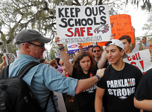 School shooting survivors target NRA-linked companies