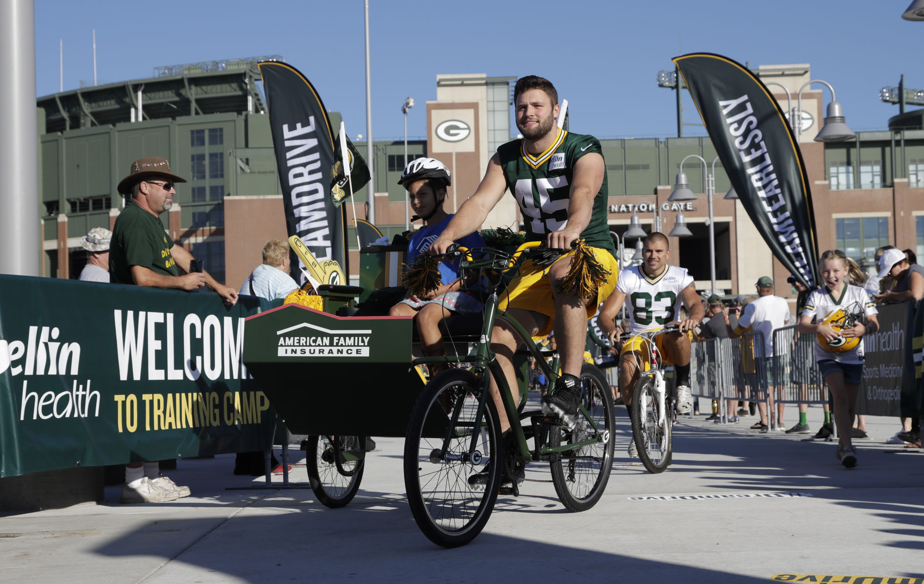 Packers vs. Cancer campaign