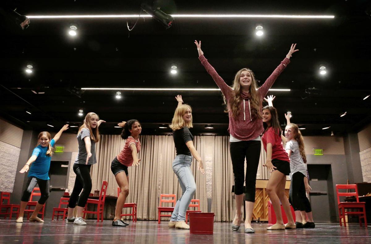 American Girl Revue rehearsal