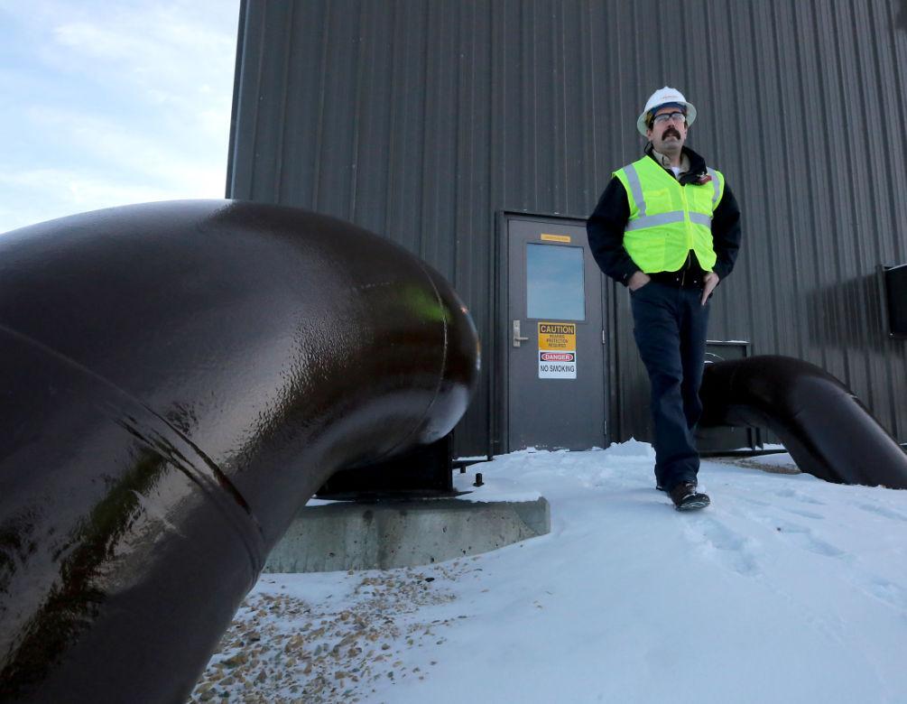 Enbridge pipeline pump station