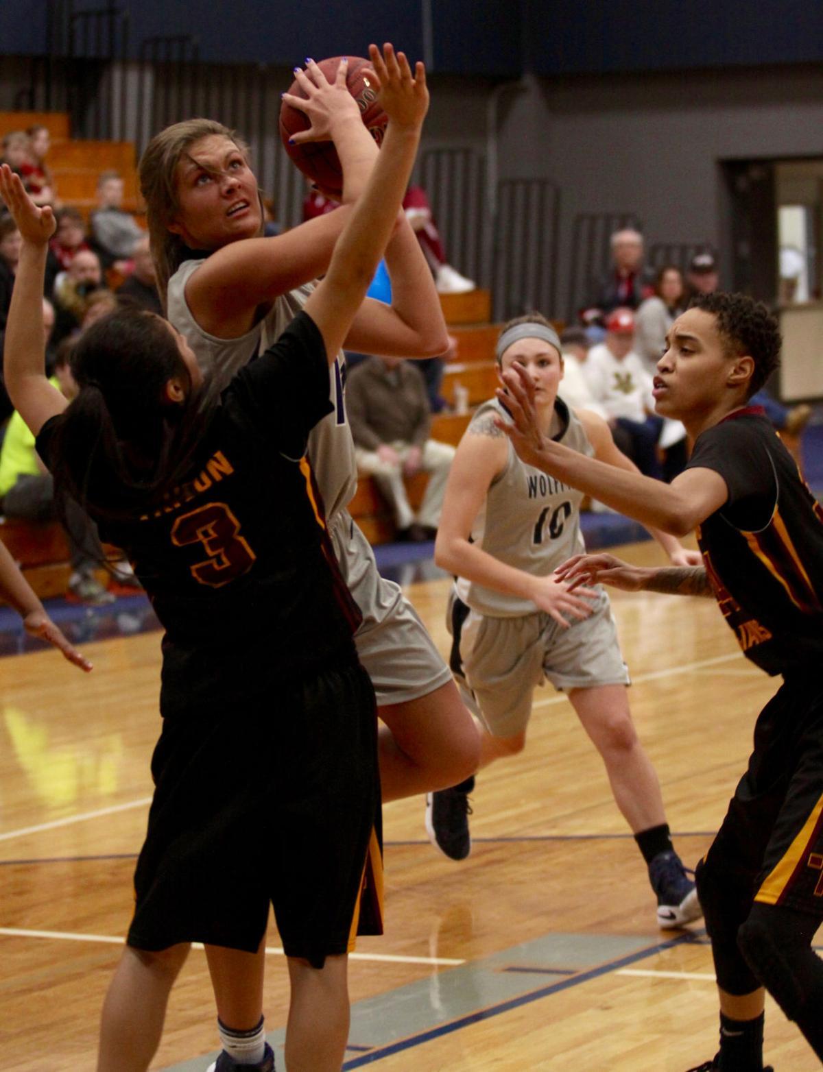 Rachel Slaney, MATC women's basketball vs. Triton College
