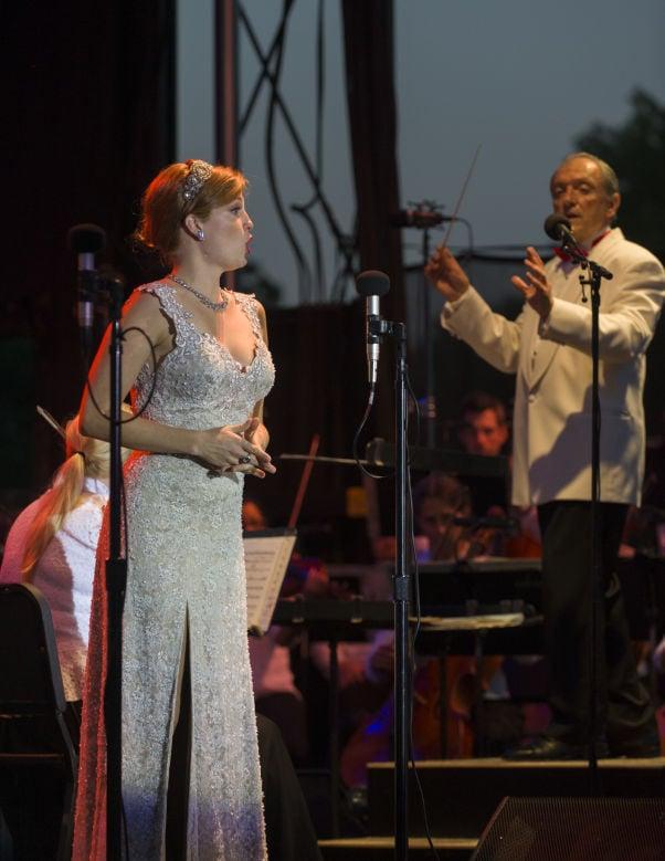 Opera in the Park 2014 Wallis Giunta