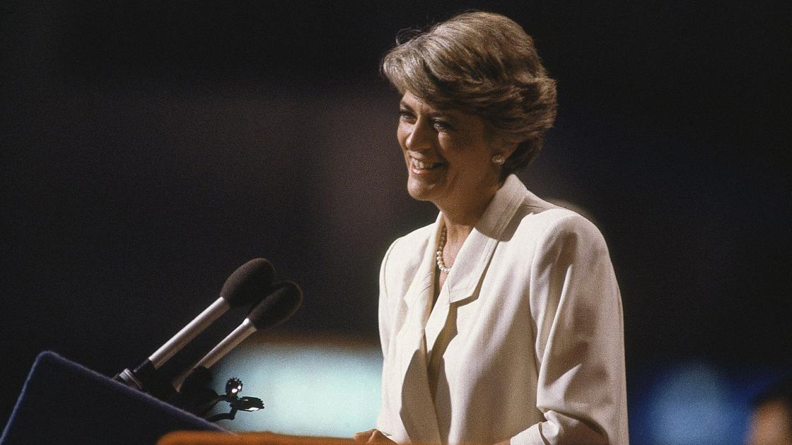 geraldine ferraro Geraldine a ferraro is co-host of crossfire, cnn's popular political debate program ferraro earned a place in history as the first woman vice-presidential candidate on a national party ticket ferraro joined crossfire in february 1996, joining bill press on the left, while john sununu and pat.