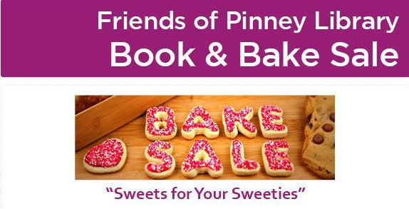 Books and Treats Pinney Bake Sale FRIENDS OF PINNEY LIBRARY