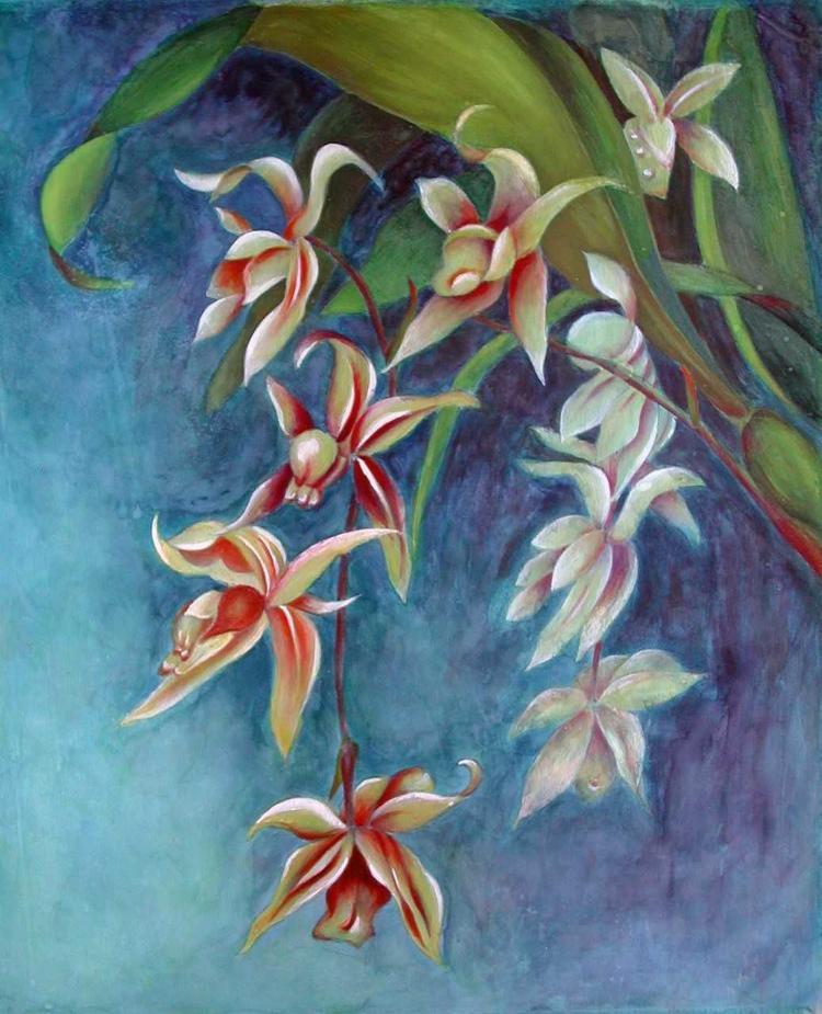 Evening Orchids, Vina Yang