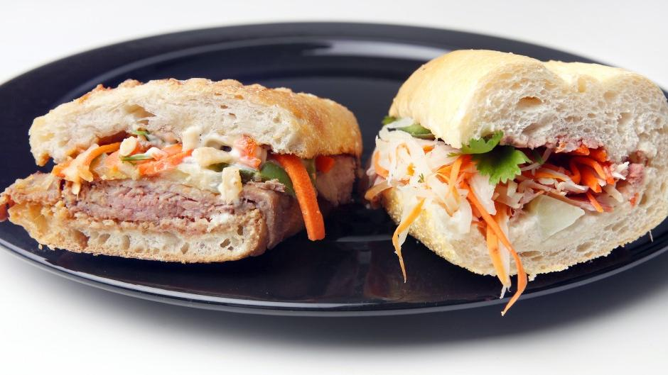 East meets West in four flavorful banh mi sandwiches