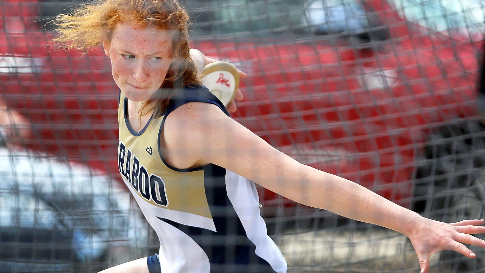 Prep girls track and field: Dedication, family support lift Baraboo thrower Josie Schaefer to the top of the list