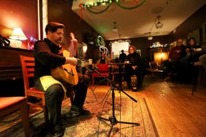A cozy night with the classical guitar at Madison coffee house