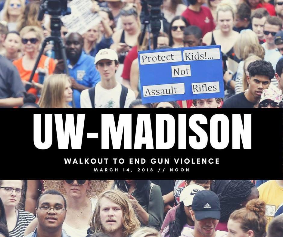 uw anti-gun protest