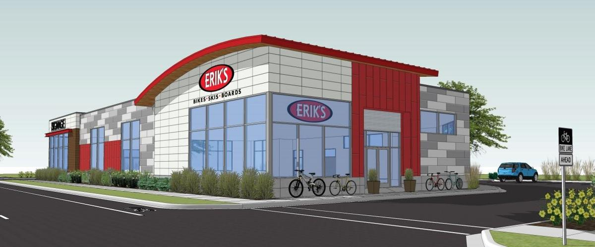 Erik S Bike Shop Proposing To Rebuild At Schlotzsky S Deli Site On
