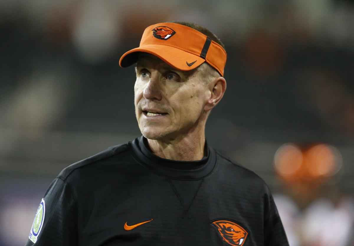 Gary Andersen at Oregon State, AP photo
