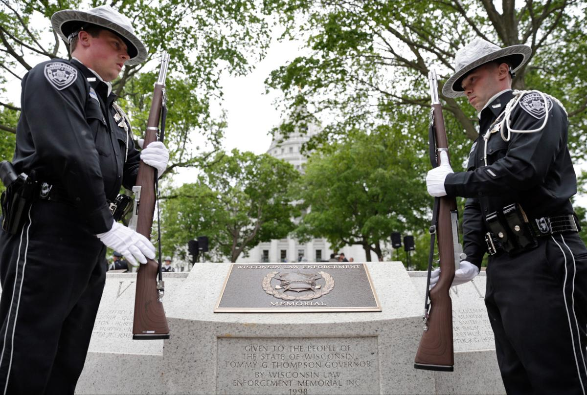 Image result for police memorial, madison, wi, image, photo, picture