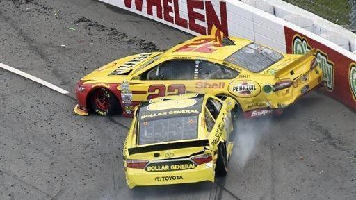 NASCAR: Matt Kenseth wrecks Joey Logano, paving way for ...