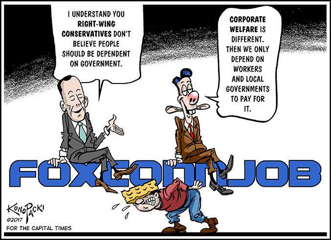 Foxconn cartoon
