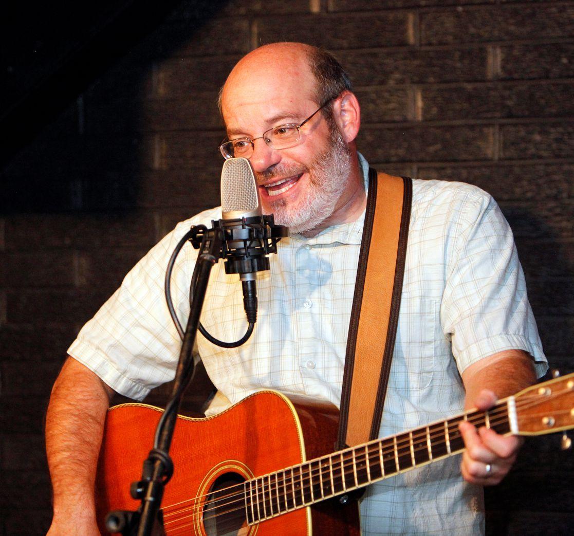 David Landau on guitar