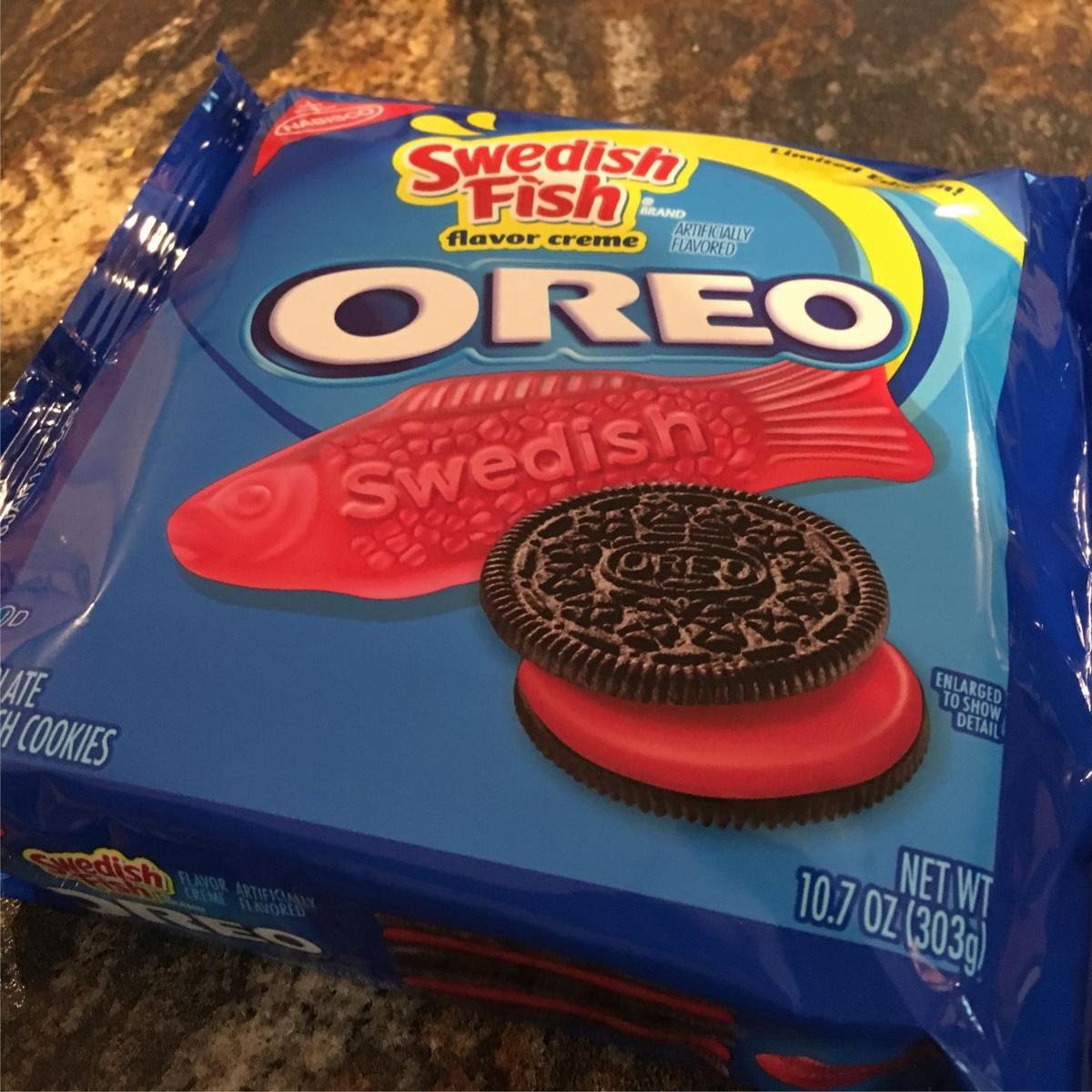 Yeah i ate that swedish fish oreos may be great or i for Swedish fish oreos where to buy