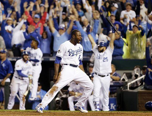 Lorenzo Cain, AP photo