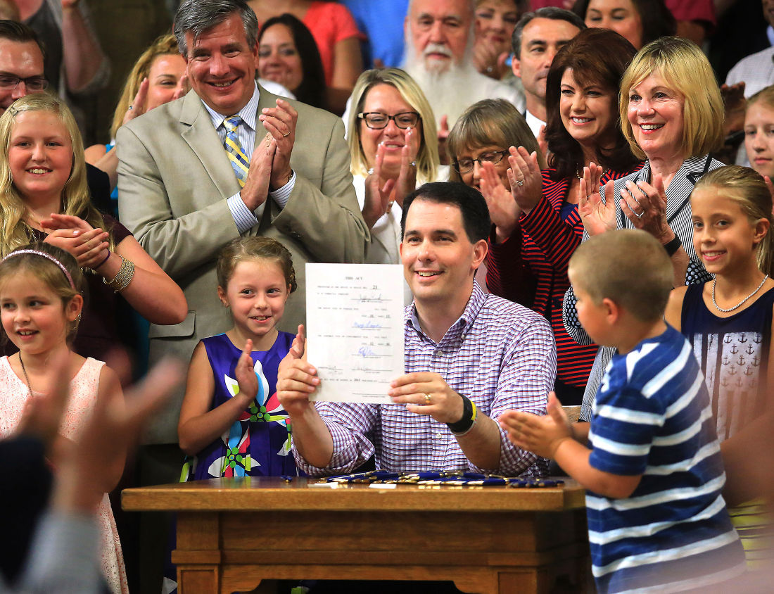 Scott Walker says new spending should stay below $20 million