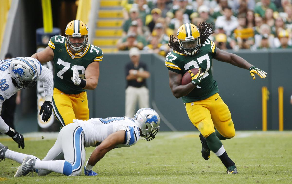 Eddie Lacy Before And After Tom Oates: Packers sho...