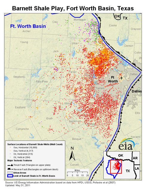 What Does Barnett Shale Profitability Mean For Oil Stocks - Us shale plays map
