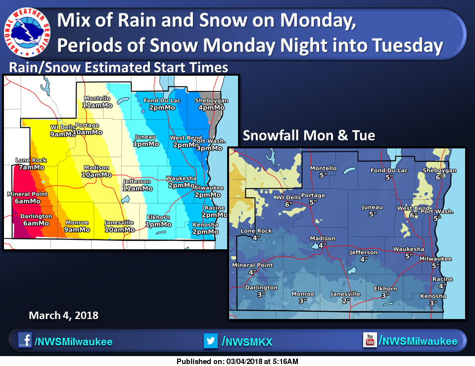 Powerful Storm System To Hit Wisconsin Monday Into Tuesday
