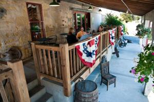 The Old Feed Mill patio