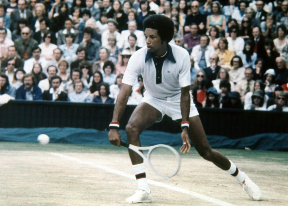 s Anniversary Arthur Ashe wins Wimbledon