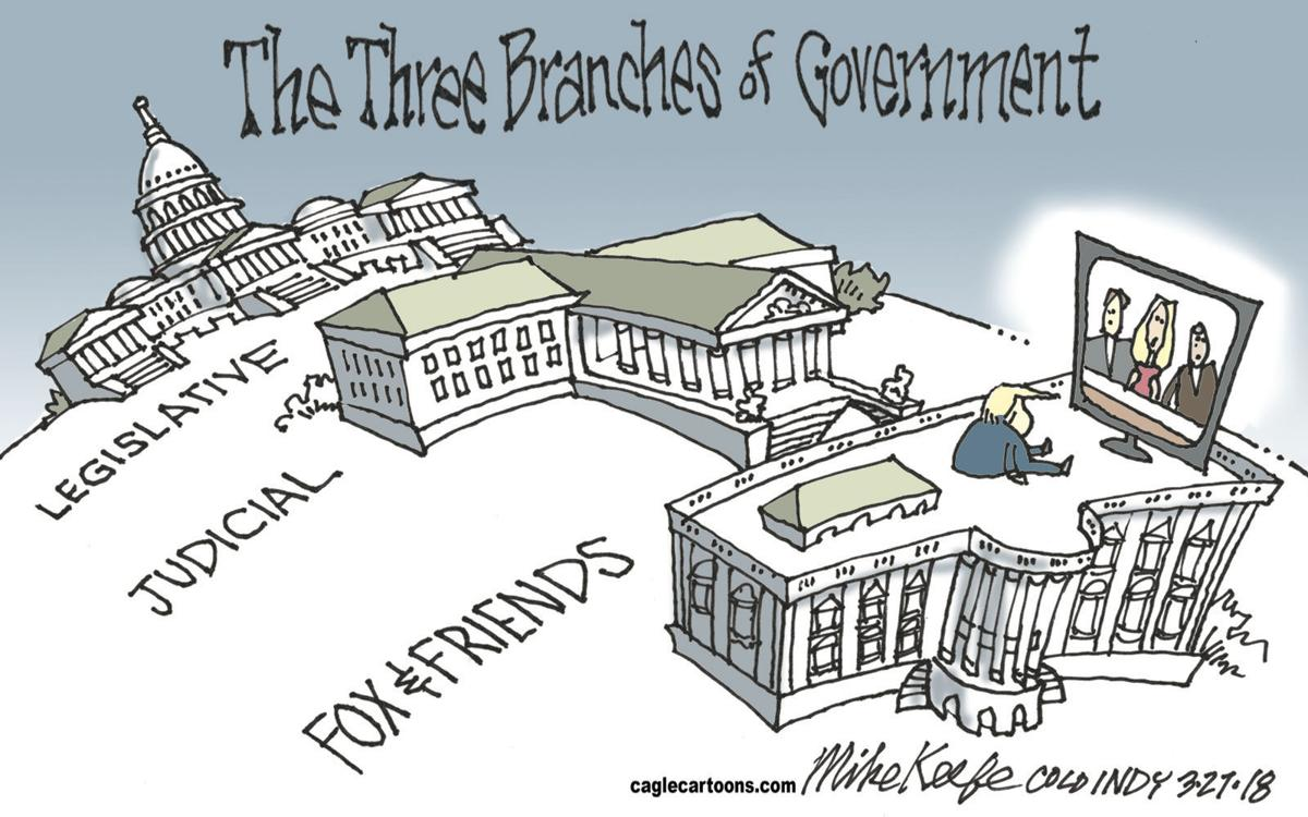 3 Branches Of Government Including Fox Amp Friends In Mike