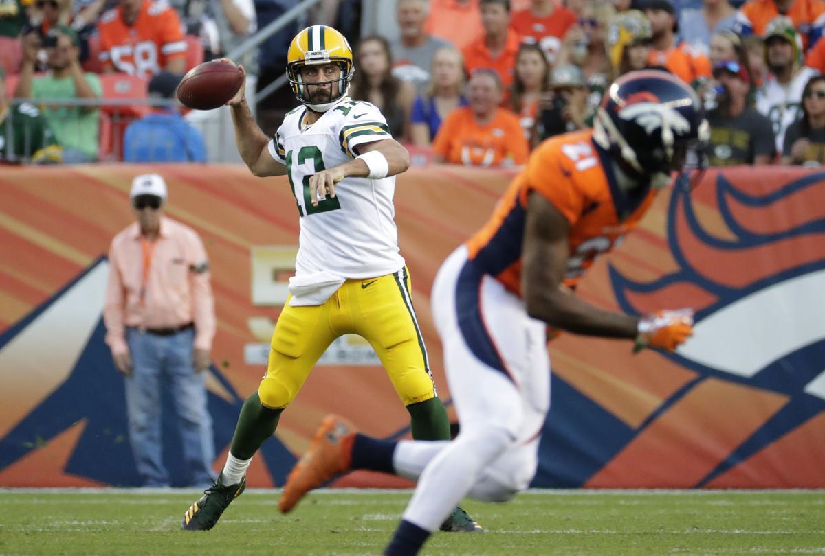 Aaron Rodgers Packers vs. Broncos