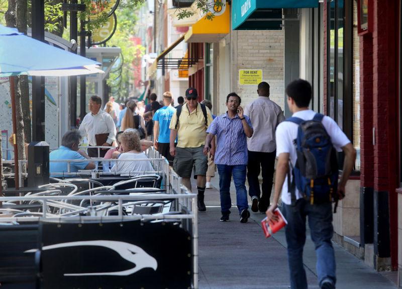 State Street sidewalk cafes