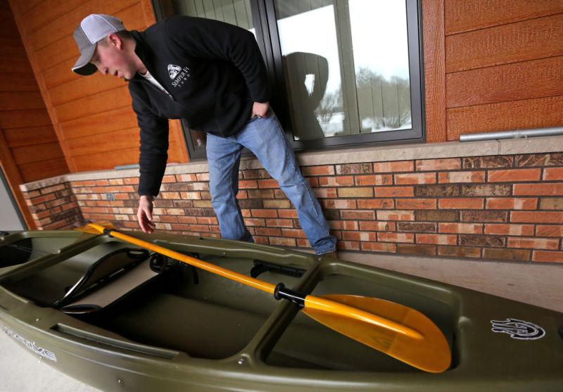 Marine Kayaker