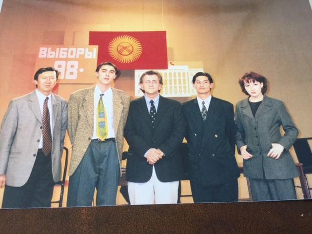 Kyrgyz Republic 1998 debate, Jerry Huffman