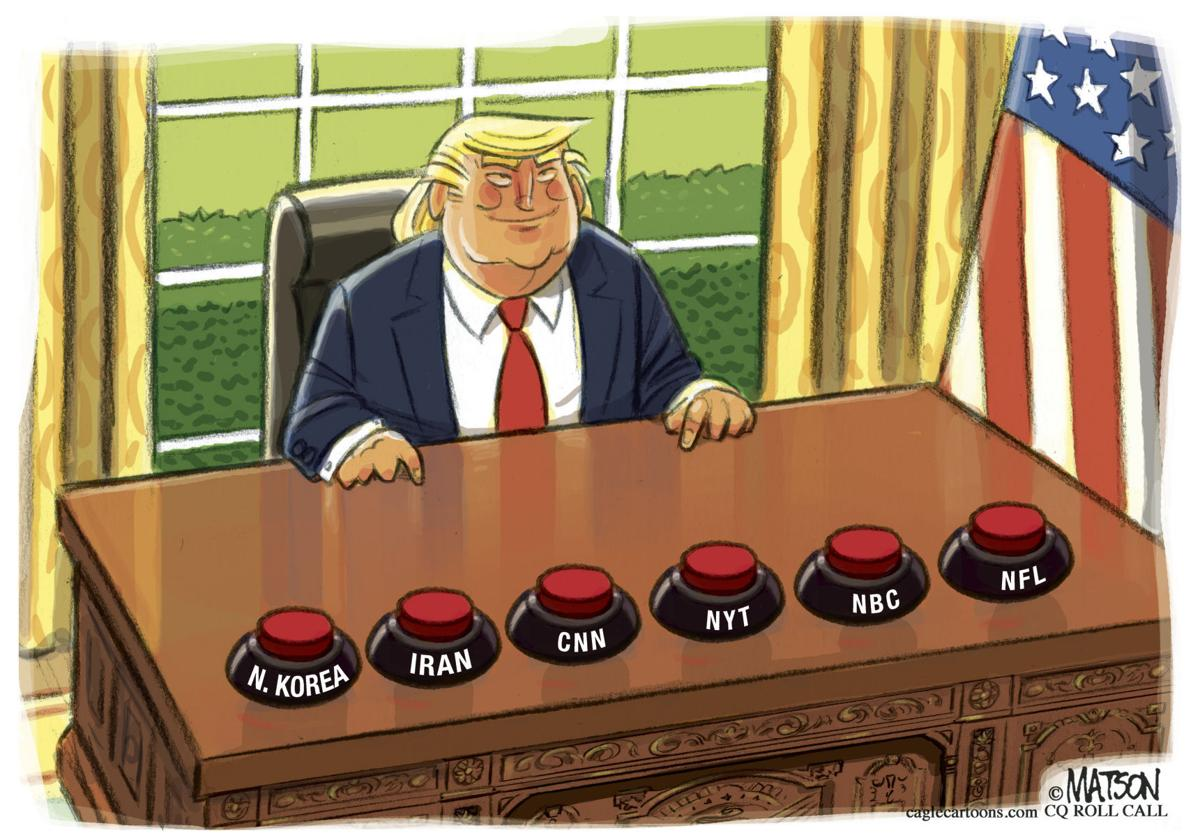 Image result for r.j. matson nuclear buttons