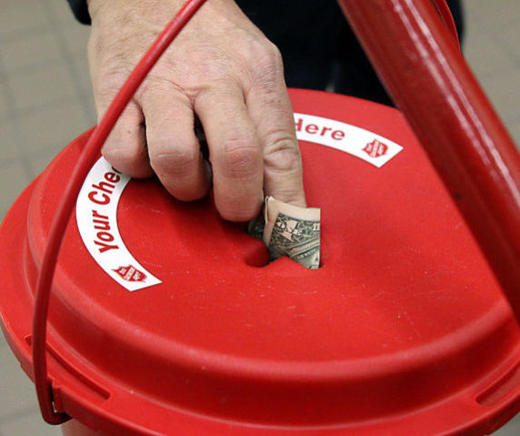 Salvation Army's red kettle campaign