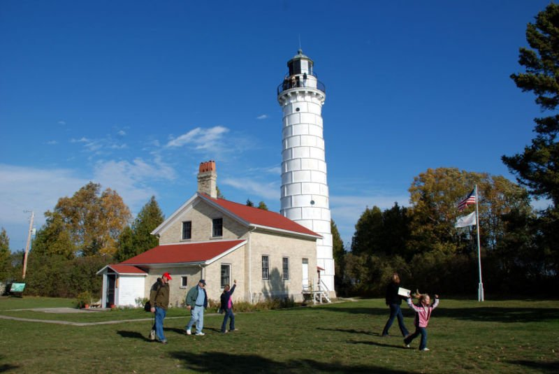 Cana Island Lighthouse & Summer in Wisconsin: Door County lighthouses | Travel | host.madison.com