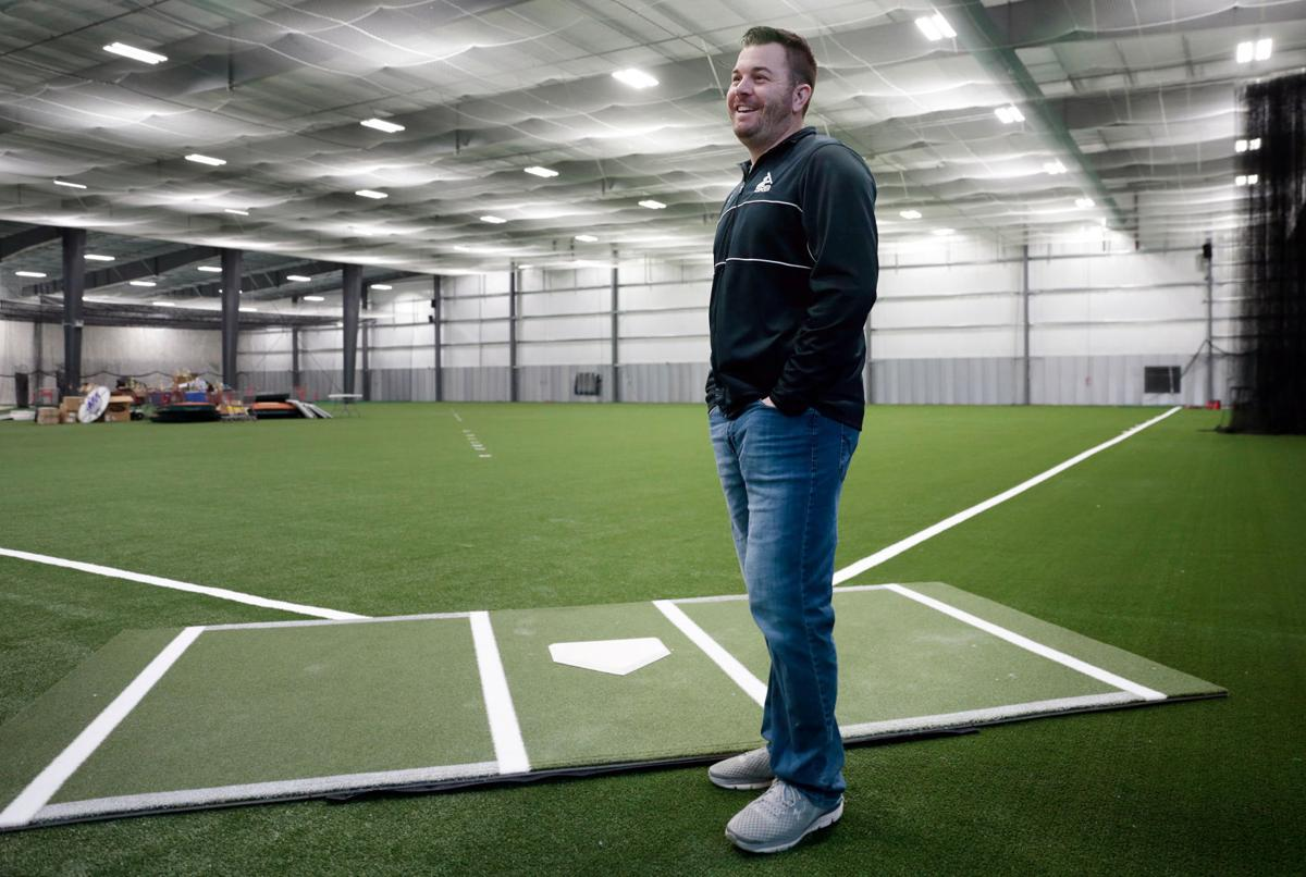 Grb academy opens its doors on larger indoor baseball for Design indoor baseball facility