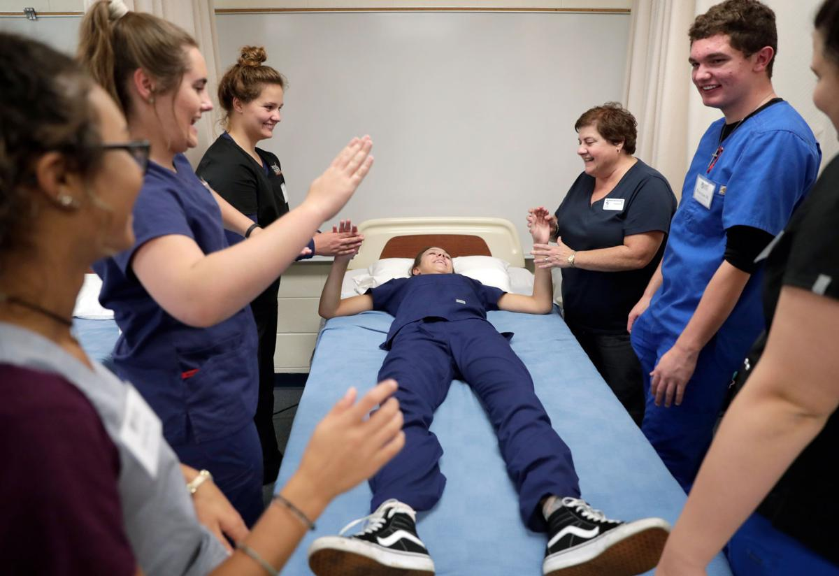 Cna class at verona high school gives students behind the scenes cna class at verona high school gives students behind the scenes look at health care field 1betcityfo Gallery