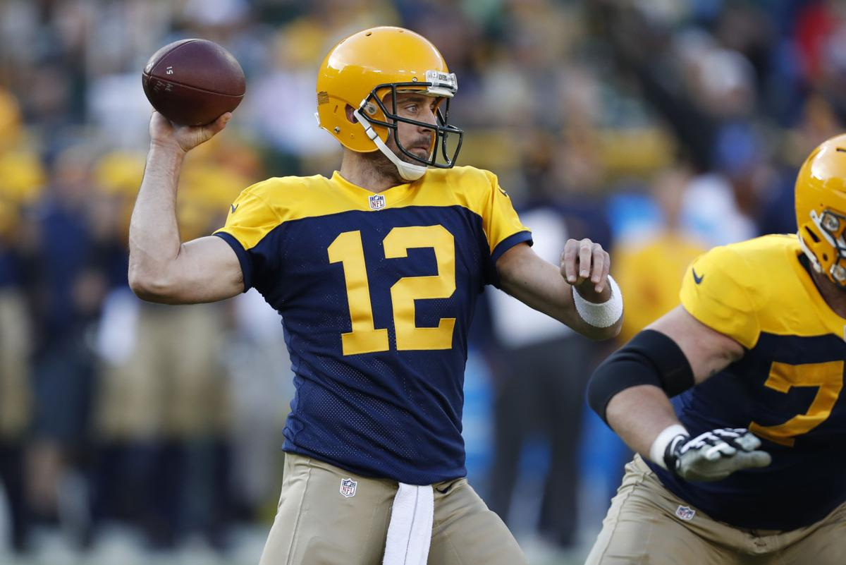 Packers Aaron Rodgers Says His Accuracy Could Be Better