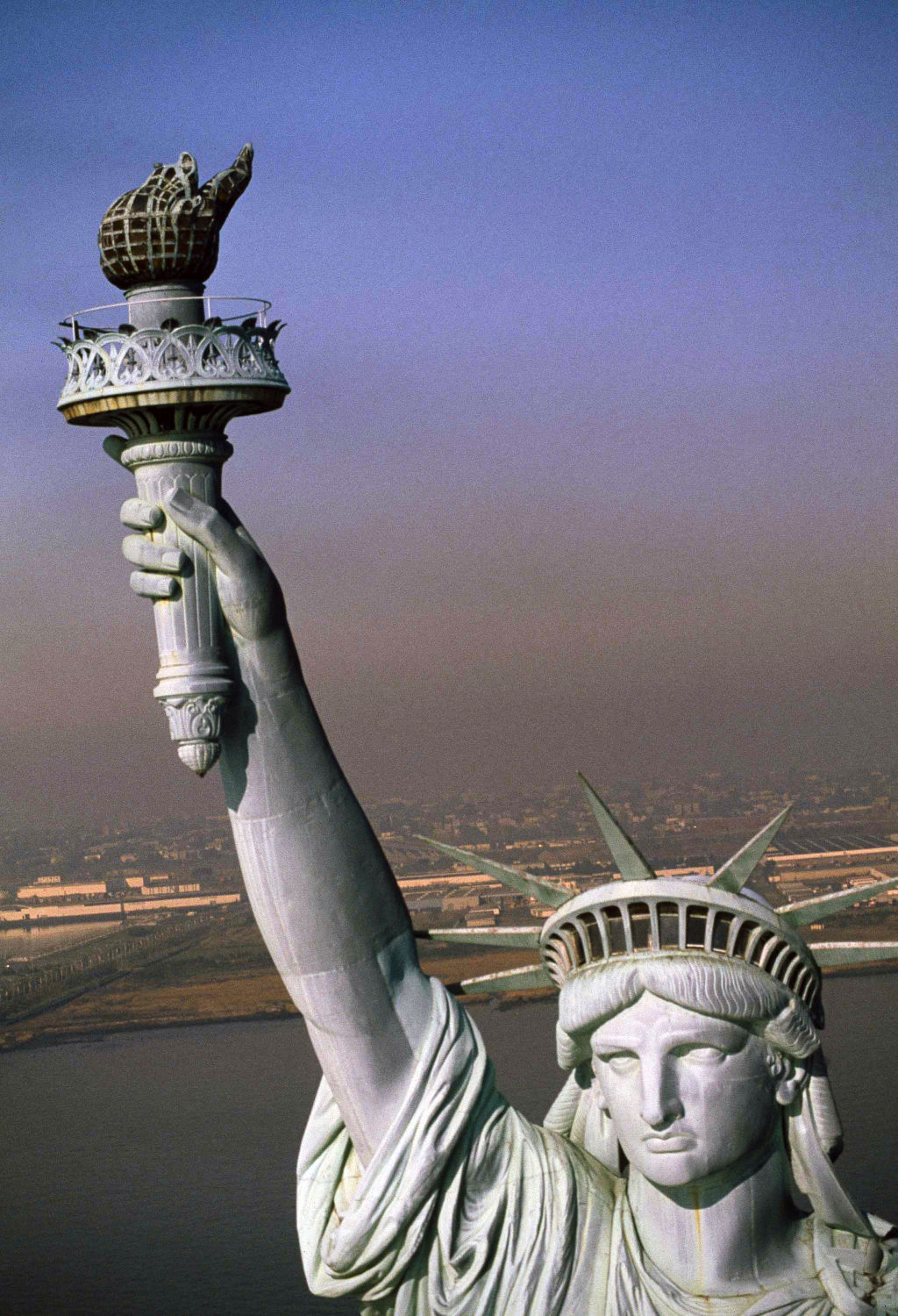 Satatue Of Liberty With Puartarican Flag Tattoo: Photos: Anniversary Of Statue Of Liberty's Arrival