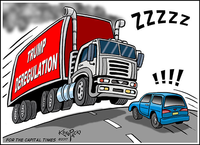 Editorial cartoon (8/23/2017)